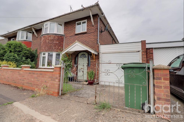3 Bedroom Semi Detached House Rhondda Close Bletchley 1 100 Per Month Haart