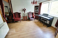 Openplan Lounge and Bedroom Area 13ft .11ins x 11ft .03ins